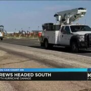 LP&L crews assisting with repair efforts after Hurricane Laura